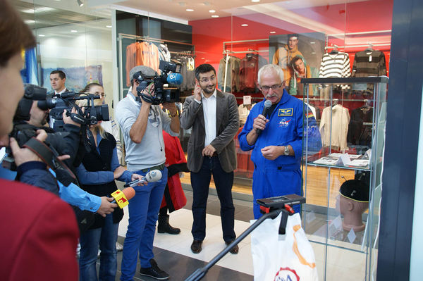 Media presence at the opening tour in Bucharest