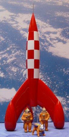 Tintin-Rocket