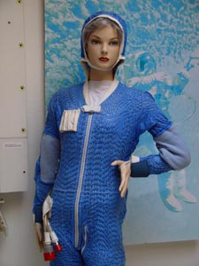 Cooling underwear for space suit