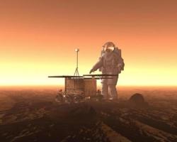 ESA Mars Astronaut